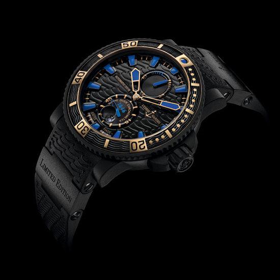 雅典表全新Black Sea限量版潜水腕表