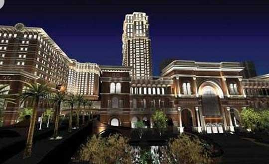 船身带有上海半岛酒店标志并由酒店精心