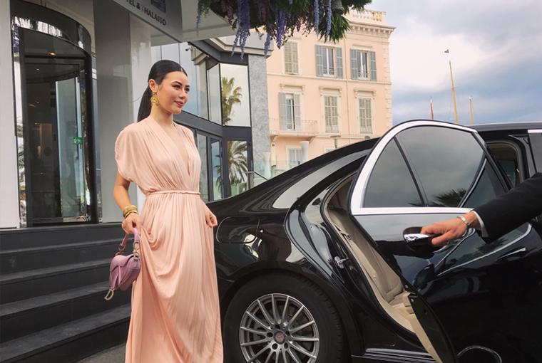 新生代時尚icon亮相戛納電影節 呂茜穿Dior2019春夏系列參加開幕式